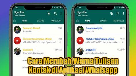 tema whatsapp,whatsapp,tutorial whatsapp di 2020 | Tulisan, Aplikasi