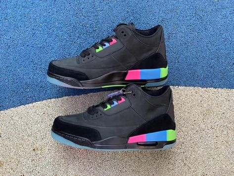 1cae26efc6c20a air jordan 3 quai 54 gs mens for sale on feet release pics at9195-001 -  www.anpkick.com