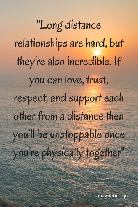 You can make long distance love work with a few simple rules. Read my blog post to find out more. #InspirationAndQuotes