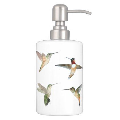 Bathroom Sets, Hummingbird Bathroom Accessories