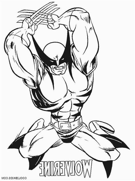 Wolverine Coloriage 10 Nice Wolverine Coloriage Photos