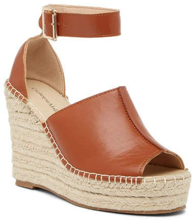 release date sale usa online best sell Catherine Catherine Malandrino Chingies Platform Wedge Espadrille ...