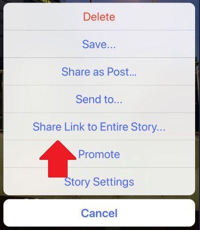 Instagram Adds Option To Link To Instagram Stories Expands Stories Promote Tool Instagram Story Instagram Marketing Instagram