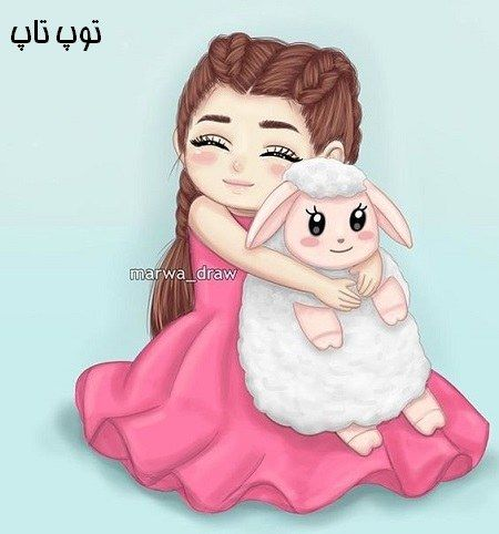عکس لاکچری پروفایل Cute Cartoon Pictures Cute Cartoon Girl Girly Art