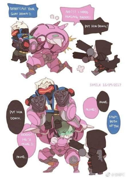 Pin By Seraphine Hao On R76 Overwatch Drawings Overwatch Memes Overwatch Funny