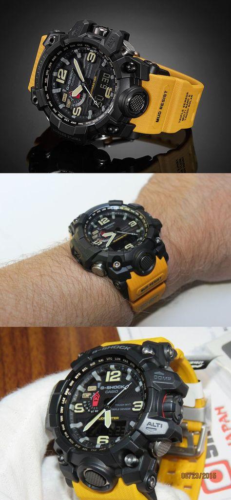 2016 CASIO G-SHOCK MUDMASTER GWG-1000-1A9JF http://www.slideshare.net/leatherjackets/best-watches-reviews-2014-casio-gshock-black-watches-for-men