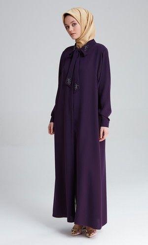 Urun M7040 Tugba Ferace Giyim The Dress Urunler