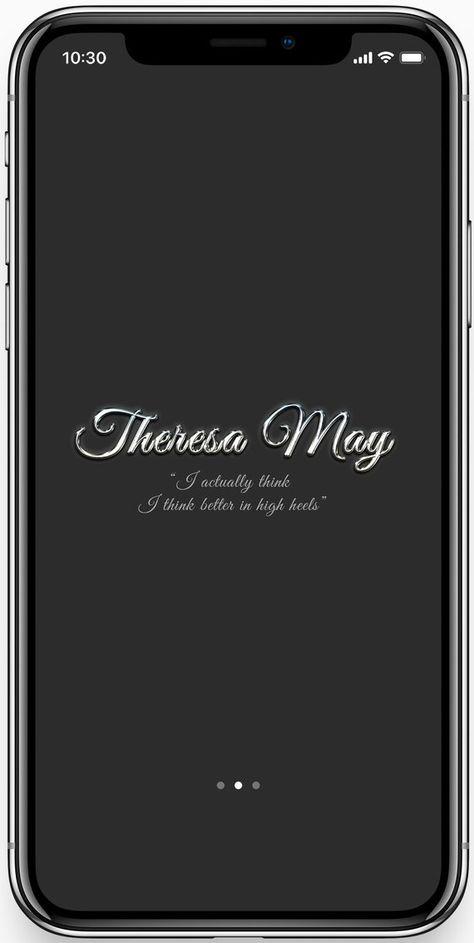 Custom Smartphone Display Phone Theme Monogrammed Personalized