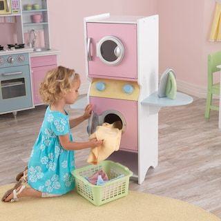 Kidkraft Laundry Play Set Kohls Kids Playing Kids Cleaning Playset