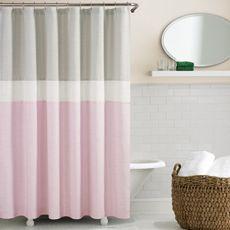 pink shower curtains shower curtain
