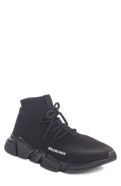 Balenciaga Speed Sneaker Balenciaga Shoes In 2020 Black