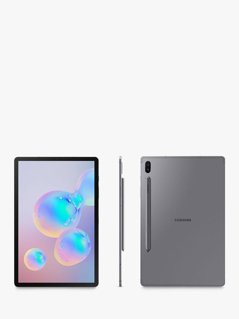 Samsung Galaxy Tab S6 Tablet With S Pen Android 128gb 6gb Ram Lte 10 5 Mountain Grey In 2020 Samsung Galaxy Tablet Finger Print Scanner Samsung