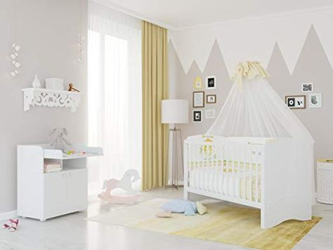 Polini Kids Kinderzimmer Set Simple Kombi Kinderbett Mit