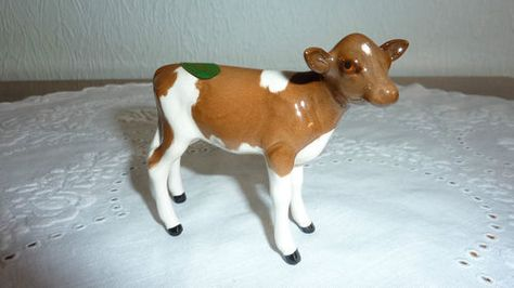 Beswick Ayrshire Calf Ebay Ceramic Figurines Calves Cattle