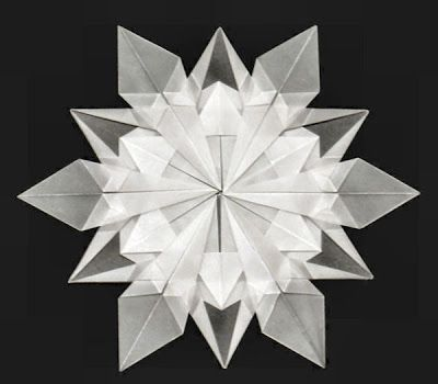 Let it snow... origami snowflakes! - Artful Maths | 350x400
