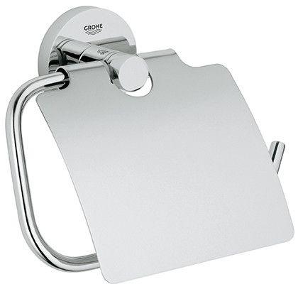 Grohe Essentials Wc-Papier Hygiénique Avec Couvercle Chrome 40367001