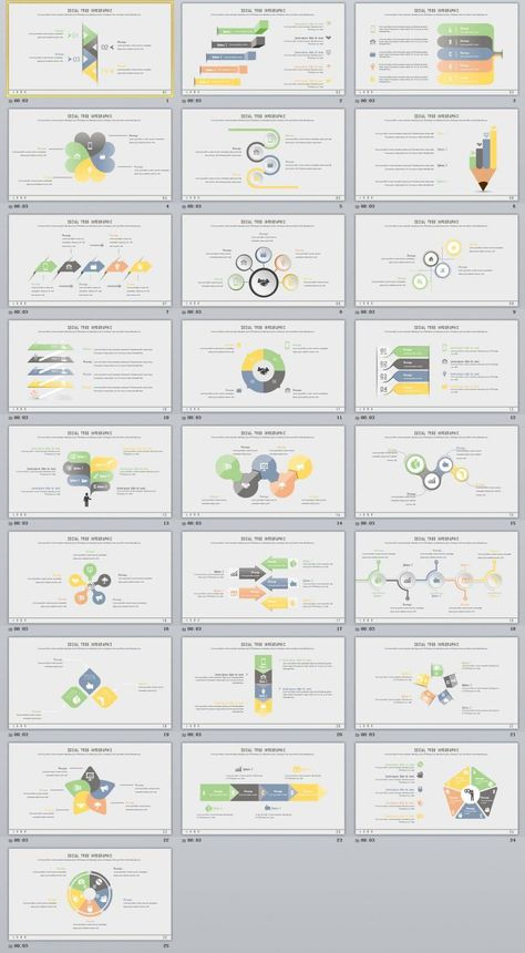 25+ Business Infographics PowerPoint template #infographicsanimation