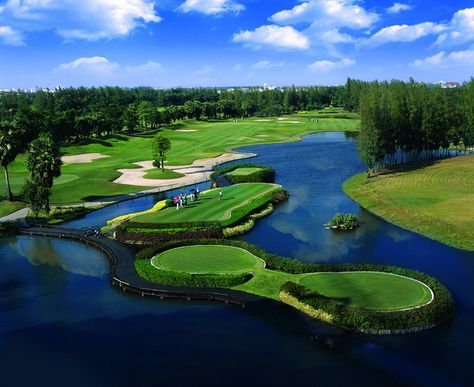 Summit Windmill Golf Club, Bangkok Golf Course, Thailand... #golf #courses