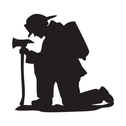 fireman silhouette clip art # 13