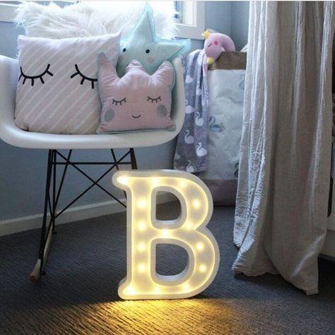 Gunstige Luminous Led Brief Nachtlicht Kreative 26 Englisch