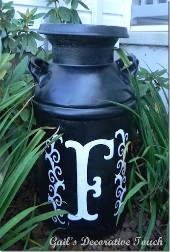 Ideas for milk can