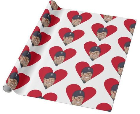 Liverpool FC Valentine's Gift Wrap, Jurgen Klopp Wrapping Paper - for him and her
