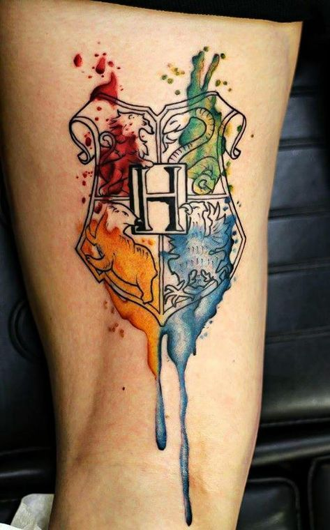 50 Insanely Crazy Harry Potter Tattoos That Are Truly Inspiring Harry Potter Tattoos Harry Potter Tattoo Tattoo Designs