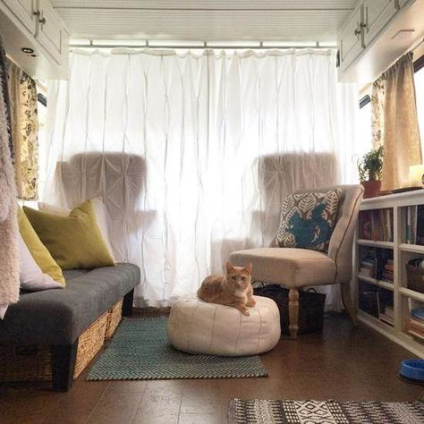 We'd Move In!  See What This Retro RV Looks Like After a Beautiful Makeover