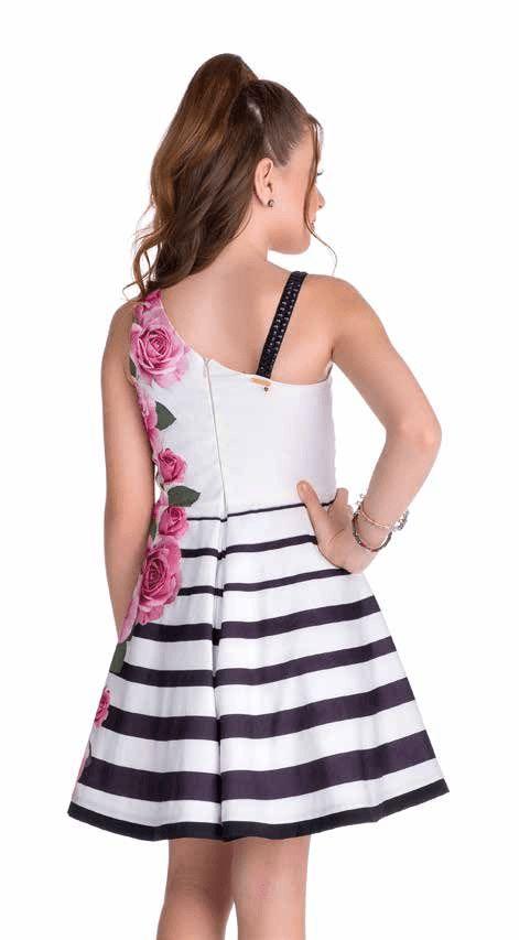 c2e6722254 Vestido Diforini Moda Infanto Juvenil 010992