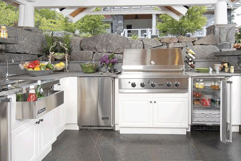 Have You Ever Imagine Having An Outdoor Kitchen Cabinets Duluxe White Polymer Kitchen Cabinet Ideas For Rustic Outdoor Kitchen Rustic Outdoor Kitchens Outdoor Kitchen Cabinets Outdoor Kitchen Design
