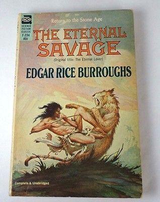 Edgar Rice Burroughs The Eternal Savage Edgar Rice Burroughs Science Fiction Fantasy Books
