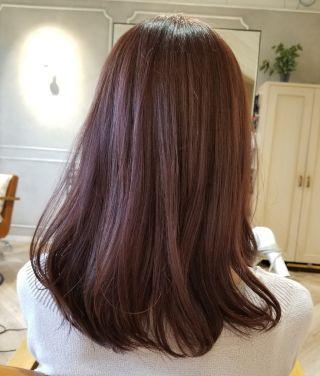 アッシュピンク ブリーチなし Yahoo 検索 画像 髪 カラー