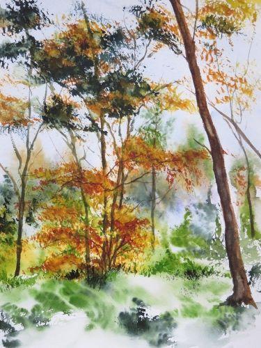 Epingle Par Tatyana Sur Akvareli Aquarelle Comment Peindre Et