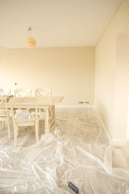 Streichen Mit Kreidefarbe Von Painting The Past Wandfarbe Esszimmer Meine Erfahrung Und Tipps Ratgeber Wande Richtig Wandfarbe Wohnzimmer Streichen Renovierung