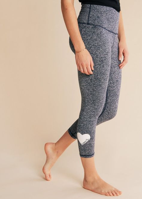 fdaae1fde3 B3 X BEYOND YOGA GREY OMBRE HIGH WAISTED MIDI LEGGING | barre3—S H O P in  2019 | Grey ombre, Fashion, Pants