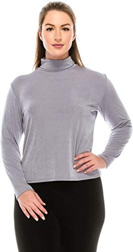 Jostar Womens Stretchy Vented Tunic Top Short Sleeve