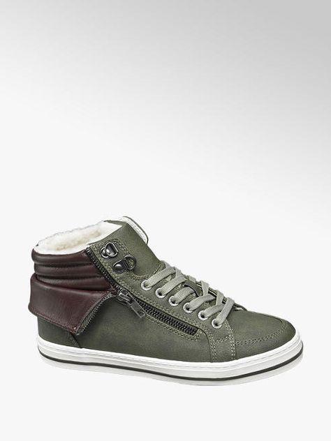halfhoge sneakers dames