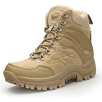 a658e8cf3bf WOJIAO Spring and Summer Military Boots Outdoor Hiking Men's Shoes ...