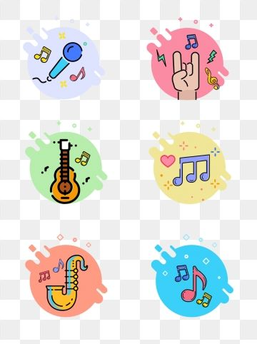 Instrument Playing Sing Icon Music Vector Cartoon Vector Note Vector Music Cartoon Fashion Show Poster Playing Character