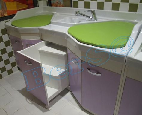 Photos On LBO A Lababo Alt De i tirme Masas Baby Changing Table Lababo ocuk Banyo r nleri Baby Bathroom Pinterest