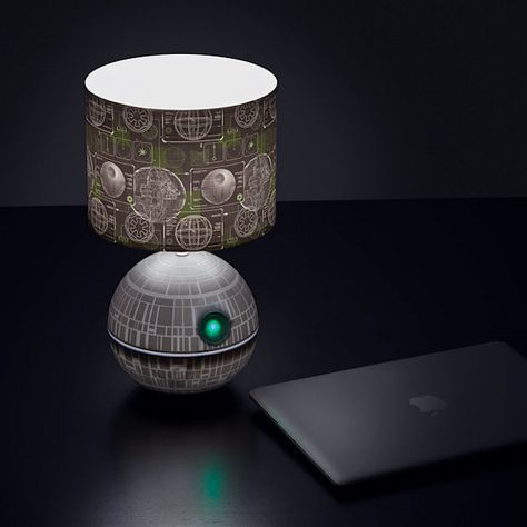Death Star Desk Lamp Is the Ultimate Power in Your Cubicle