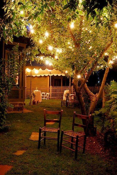 Look Find The Best Ideas Tips Small Garden Lighting Design Simdreamhomes Smallgardenlighting Ligh Romantische Achtertuin Diy Achtertuin Achtertuin Feest