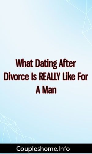 How to find a new man after divorce