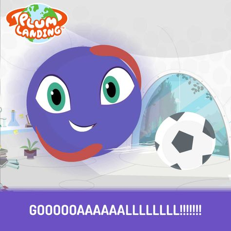GOAAAAL!!! It's World Cup time and even Plum is pumped. Go outside and play! #WorldCup #playoutdoors