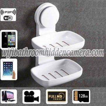 Wireless Spy Camera For Phone Hd 1080p Spy Bathroom Soap Box Dish Camera For Ios Andriod System Wireless Spy Camera Spy Camera Bathroom Soap