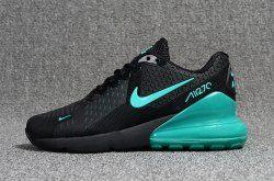 resultado retirarse Dormitorio  Nike Air Max Flair 270 KPU Black/Green Men's Running Shoes | Nike air max, Nike  shoes air max, Running shoes for men