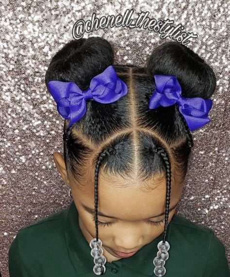 hair braids for kids \ hair braids ; hair braids tutorials step by step ; hair braids for kids ; hair braids for men Little Girls Natural Hairstyles, Cute Toddler Hairstyles, Kids Braided Hairstyles, 80s Hairstyles, Lil Girl Hairstyles Braids, Black Little Girl Hairstyles, Mixed Kids Hairstyles, Childrens Hairstyles, Black Hairstyle