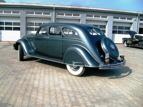 1934 Chrysler Airflow Cv 4 Door Sedan Chrysler Airflow Chrysler