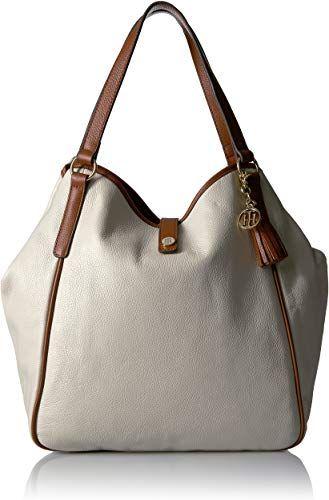 New Tommy Hilfiger Hazel Leather Tote Womens fashion Handbags. [$148.57] favoritetopfashion offers on top store