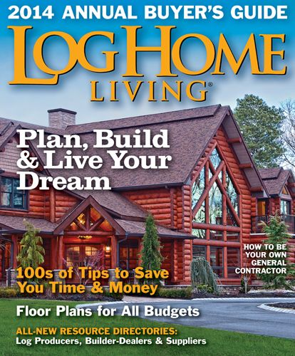 life features concrete everlog cabin home richardson cabins log magazine